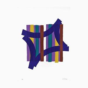 Geometries - Original Screen Print by Luigi Montanarini - 1970s 1970s