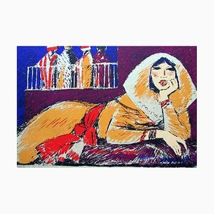 Salima - Original Screen Print by S. Fiume - 1980 1980