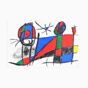 Composition VI - Original Lithographie von Joan Mirò - 1974 1974