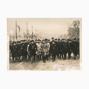 Der Jahrestag der Faschistischen Partei Stiftung - Original Vintage Photo - 1935 1935