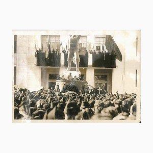 Filippo Corridoni Celebrations - Original Vintage Photo - 1930s 1930s