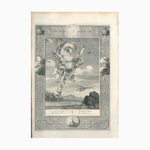 La Chute d'Icare - Original Etching by by B. Picart - 1742 1742