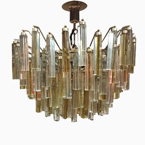 Murano Glass Chandelier by Paulo Venini for Venini, 1960s
