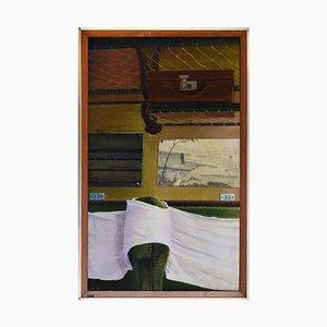 Living Room - Original Mixed Media by Fabio Rieti - 1972 1972