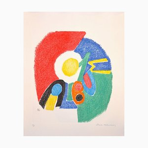 Acquaforte Untitled - Original di Sonia Delaunay - 1966 1966