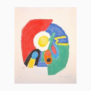 Gravure à l'Eau-Forte originale par Sonia Delaunay - 1966 1966