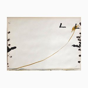 Untitled - Original Lithograph by Antoni Tapies - 1974 1974