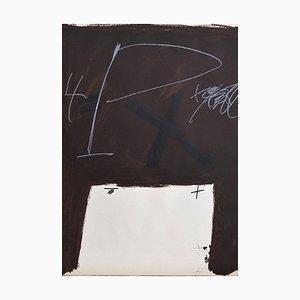 Untitled - Original Lithografie von Antoni Tapies - 1974 1974