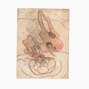 Ohne Titel 9 von Paroles Peintes Suite - 1970er - Sebastián Matta 1971