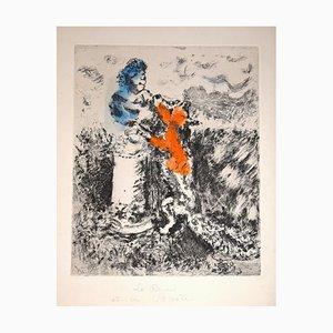Le Renard et Le Buste - Original Etching by Marc Chagall - 1927-30 1927-30