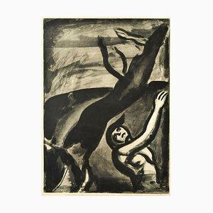 Demain Sera Beau Disait le Naufragé - Original Etching by G. Rouault - 1948 1948 (1922)