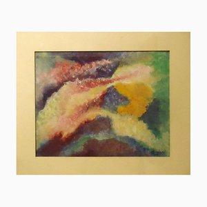 Cosmic Fantasy - Original Tempera and Pastel by Leandra Angelucci - 1936 1936