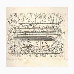 Buchheister - Suite of 10 Original Radierungen von C. Buchheister - 1966 1966