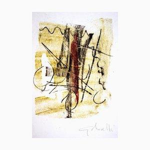 Untitled - Original Monotype by Gastone Novelli - 1957 1957