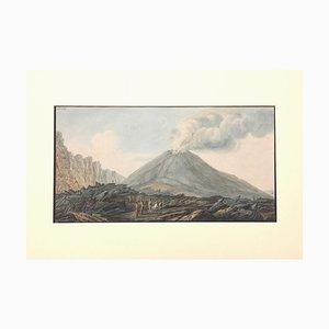 Landscape ''Campi Phlegraei - Plate XXXIII'' Naples - By Hamilton-Fabris 1776-79
