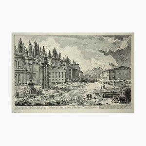 Veduta del Sito, ov'era l'antico Foro Romano 1756