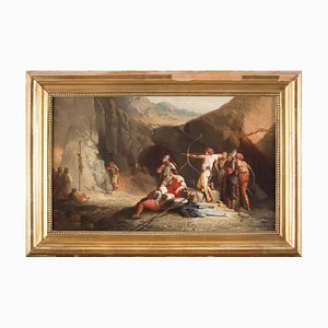 Archery - Oil on Canvas by an Anonymous French Master end of 18th/Early 19th End of 18th Century-Beginning of 19th Century