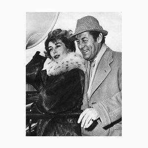 Rex Harrison und Key Kendall - Original Vintage Fotografie - 1958 1958