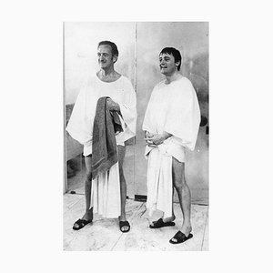 David Niven and Robert Vaughn - Original Vintage Photograph - 1970 1970