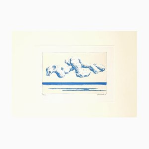 Lithographie Sea Radishes - Original Lithography by Gino Guida - 1968 1968