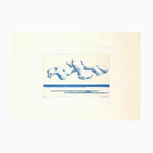 Sea Radishes - Original Lithographie von Gino Guida - 1968 1968