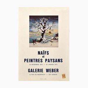 Naif Poster Exhibition - Galerie Weber Genève - 1978/79 1978