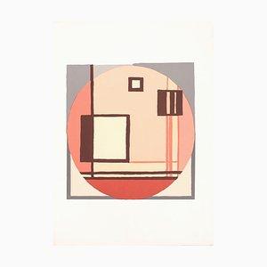 Composition C.Q.R. - Original Screen Print by Mario Radice - 1978 1978