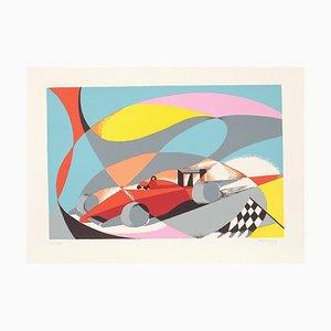 Ferrari F1 - Original Lithograph by O. Peruzzi - 1988 1988