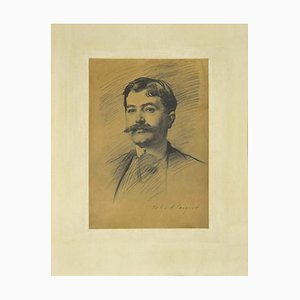 Portrait of a Man - Phototype Print Late 19th Century Late 19th Century