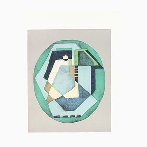 Composition C.Q.R.2 - Original Screen Print by Mario Radice - 1978 1978