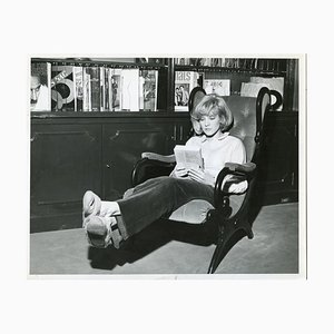 Vintage Foto Portrait von Sylvie Vartan - Ende der 1960er Jahre