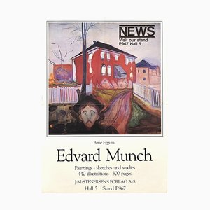 Edward Munch Vintage Poster Exhibition - 1983 1983