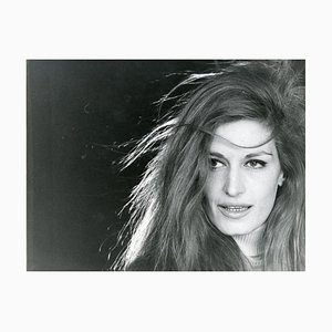 Portrait of Dalida by Jean-Marie Perier - Original Vintage Photo - 1960s Late 1960s