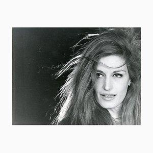 Ritratto di Dalida di Jean-Marie Perier - Foto originale vintage - Fine degli anni '60
