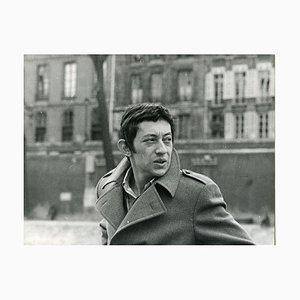 Vintage Foto Portrait von Serge Gainsbourg - Ende der 1960er Jahre