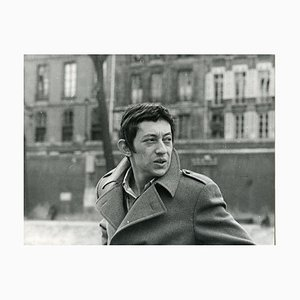 Vintage Photo Portrait of Serge Gainsbourg - Late 1960s Late 1960s