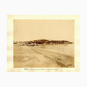 Chefoo, View of Settlement - Ancient Albumen Print 1880/1900 1880/1890