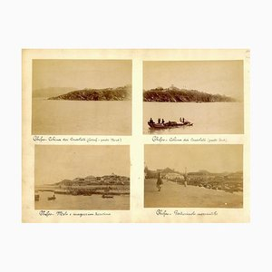 Views of Chefoo - Ancient Albumen Print 1880/1900 1880/1890