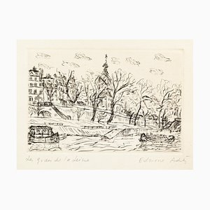 Edmone A. Ades - Etching and Drypoint by Edmone A. Ades - Mid 20th Century Mid 20th Century