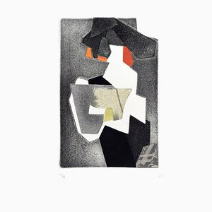 Untitled Composition - Original Mixed Media by Hans Richter - 1973 1973