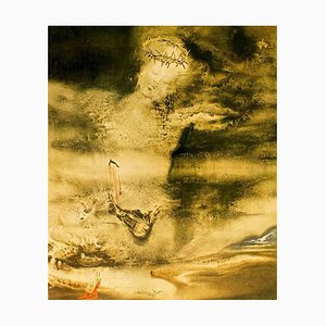 Illustration from ''Pater Noster'' - Original Lithograph by Salvador Dali - 1966 1966