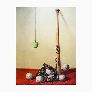 Baseball, Original Lithograph by Zhang Wei Guang - 2008 2008