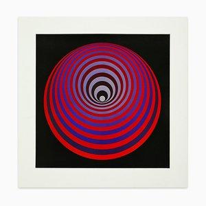 Progress 2 - Vintage Offset Poster Nach Victor Vasarely - 1974 1974