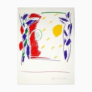Untitled - Original Lithograph by Aki Kuroda - 1980s 1980s