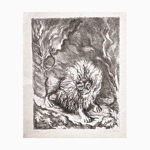 Leone - Original Lithograph by Fabrizio Clerici - 1941 1941
