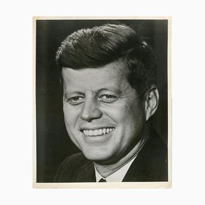 Official Portrait of John Fitzgerald Kennedy - Original Vintage Photo - 1960s 1960s