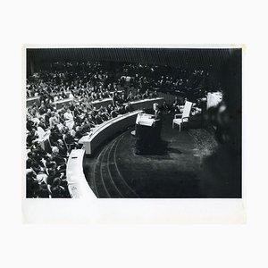 John Fitzgerald Kennedy beim Treffen des UN- Original Vintage Photo - 1960er 1960s