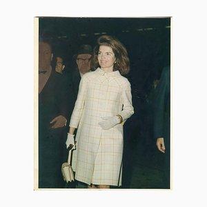 Retrato de Jacqueline Kennedy - Foto de prensa de Stanley Einzig - años 60
