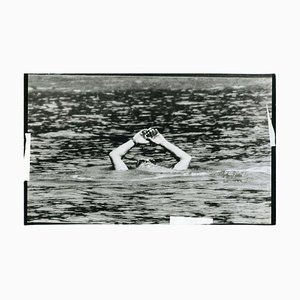 Aristotele Onassis at the Sea - Original Vintage Photo - 1970s 1970s