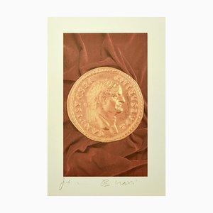 Aureus IV - Original PhotoLithograph von Bettino Craxi - 1990er 1990er